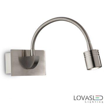 Ideal Lux Dynamo AP1 Nickel olvasólámpa