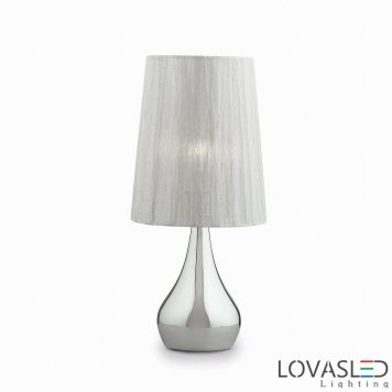 Ideal Lux Eternity TL1 Small Argento asztali lámpa