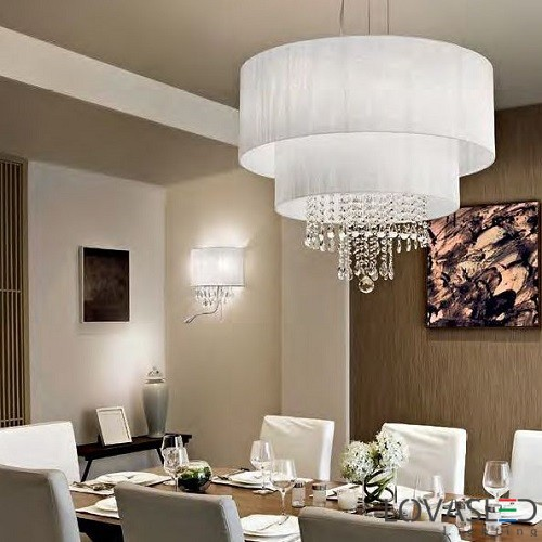 Ideal Lux Opera SP6 Bianco csillár