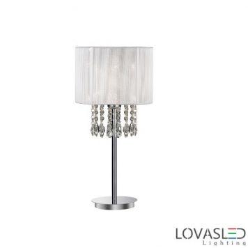 Ideal Lux Opera TL1 Bianco asztali lámpa