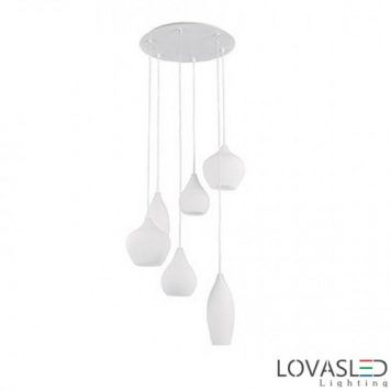 Ideal Lux Soft SB6 Bianco függeszték