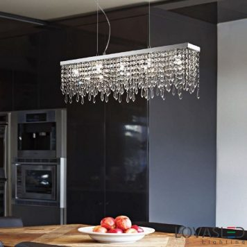 Ideal Lux Giada Trasparente SB5 függeszték