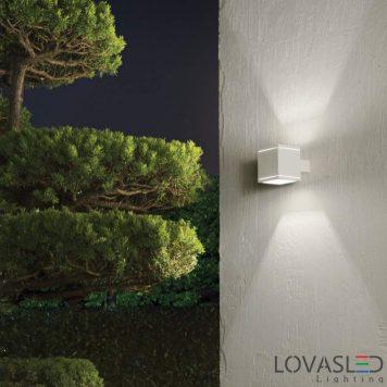 Ideal Lux Snif Square AP1 Bianco kültéri lámpa