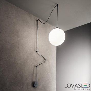 Ideal Lux Boa SP1 Nero függeszték
