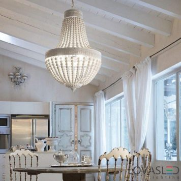 Ideal Lux Monet SP5 Bianco csillár