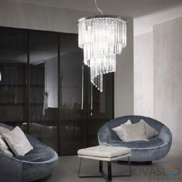 Ideal Lux Carlton SP12 függeszték