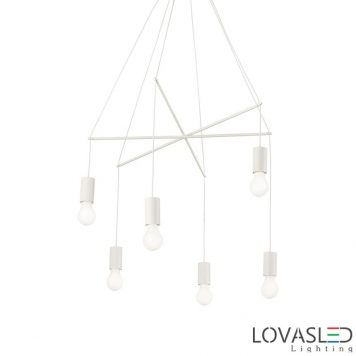 Ideal Lux Pop SP6 Bianco függeszték