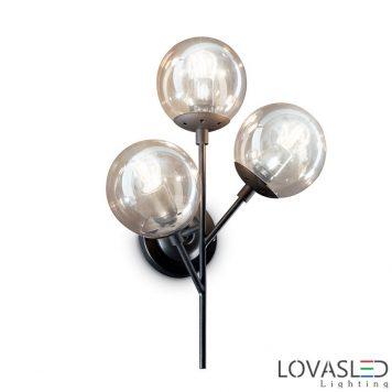 Ideal Lux Kepler AP3 oldalafali lámpa