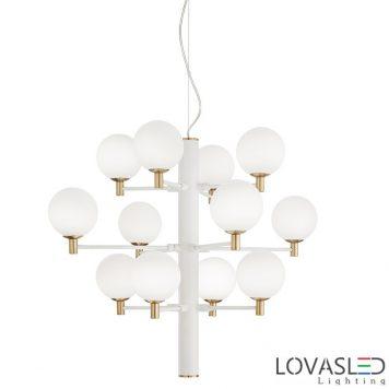 Ideal Lux Copernico SP12 Bianco függeszték