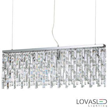 Ideal Lux Elisir SP8 Cromo függeszték