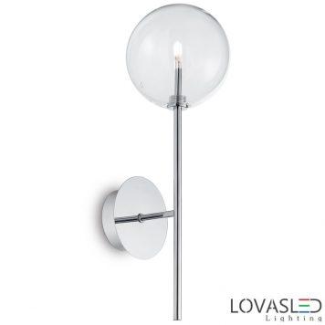 Ideal Lux Equinoxe AP1 Cromo oldalfali lámpa
