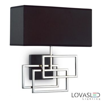 Ideal Lux Luxury AP1 Cromo oldalfali lámpa