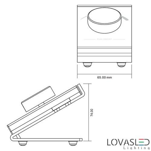 Asztali vezeték nélküli távirányító 2805D