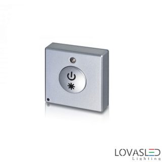 Szögletes mini fényerőszabályzó gomb 2807S