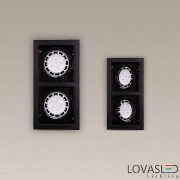 MAXlight Matrix tiltable downlight