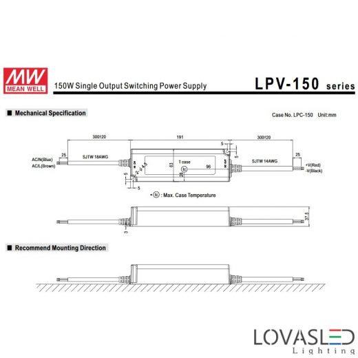 Mean Well LPV-150_24
