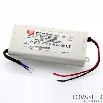 Mean Well PCD 40W 1050mA 22-38V