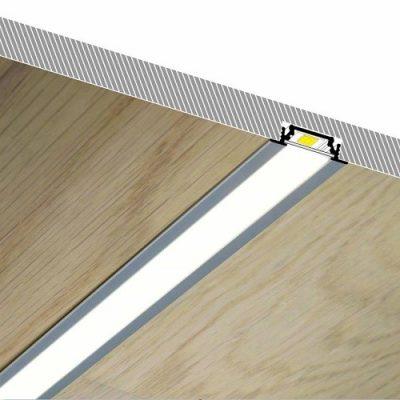 Besüllyeszthető ALU LED PROFILOK