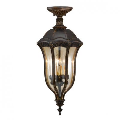Exterior ceiling lamps