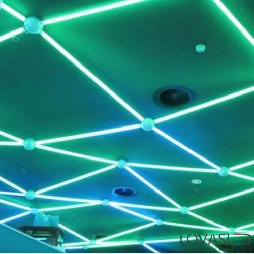 DMX Decoder digitális LED szalag vezérléséhez