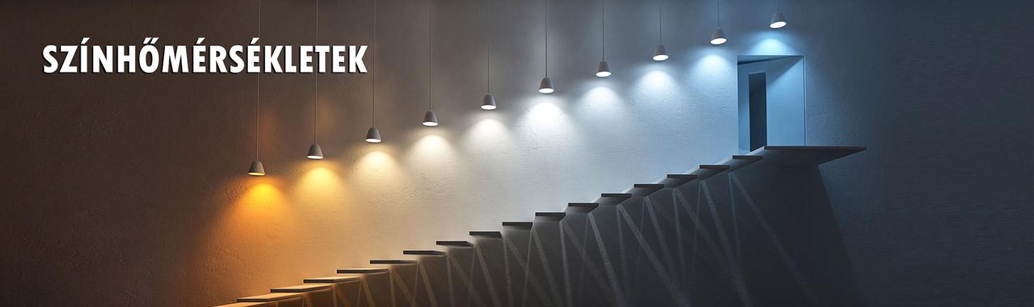LED szalag színhőmérsékletek