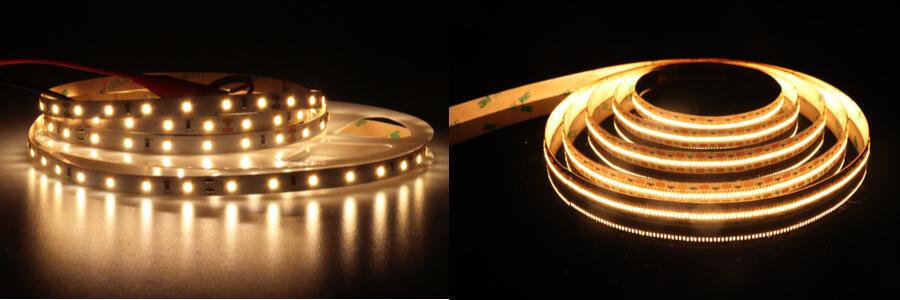 LED szalag LED sűrűsége