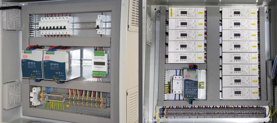 LED szalag vezérlő szekrény