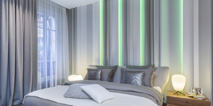 RGBW LED szalag alumínium profilban