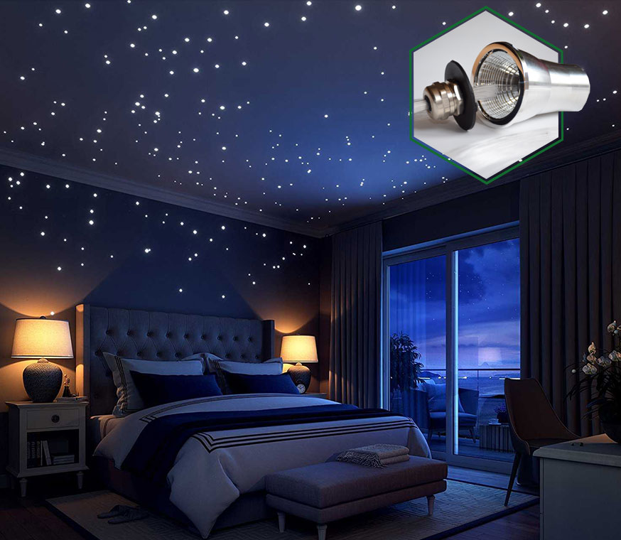 Csillagos égbolt lámpa