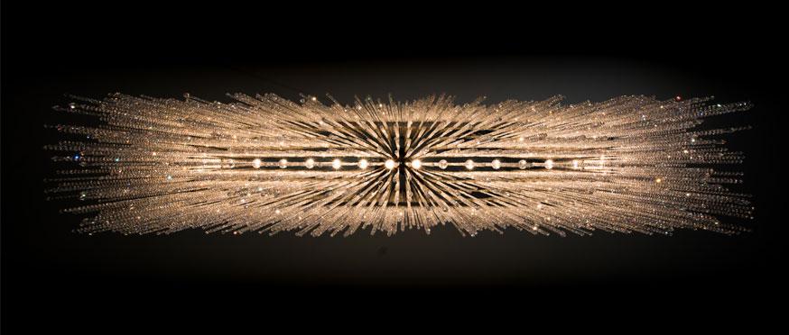 kristáycsillár készítés