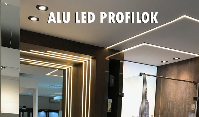 ALU LED strip profile
